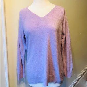 Apt. 9 lilac light weight sweater size XL